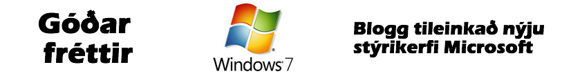 Windows 7 - Hausmynd